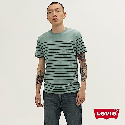 Levis T恤 男裝 SUPIMA優選棉花 單口袋