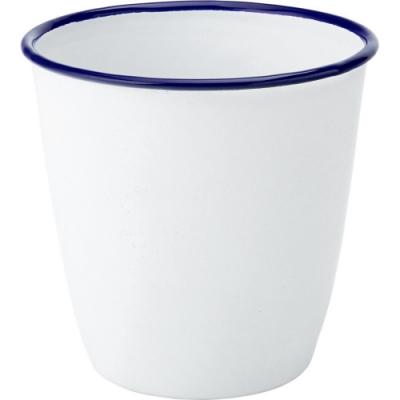 《Utopia》琺瑯茶杯(藍白500ml)