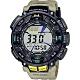 CASIO 卡西歐 PRO TREK 戶外運動太陽能電子錶-卡其 PRG-240-5 product thumbnail 1