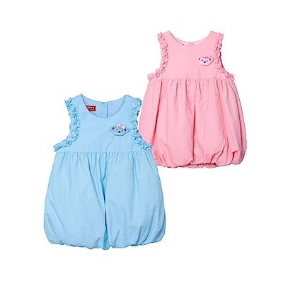 WHY AND 1/2 mini 球型絨布背心洋裝 1Y~4Y 多色可選