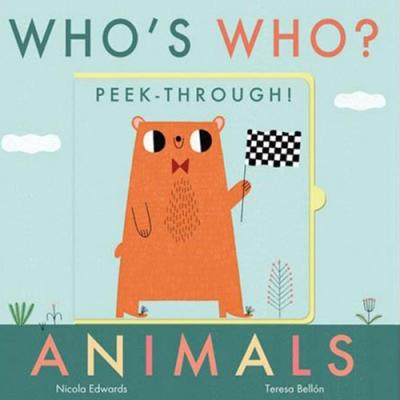 Who s Who? Peek-Through! Animals 認識動物操作書