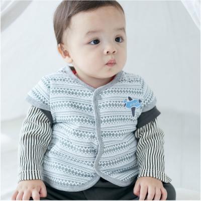 Baby童衣 民族風小馬刺繡保暖鋪棉背心47041