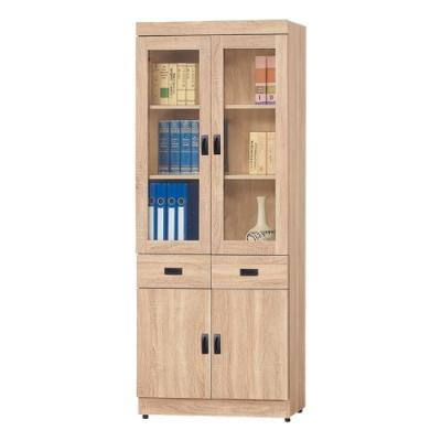 AS-法蘭克中抽書櫥-79.5x2x184.5cm