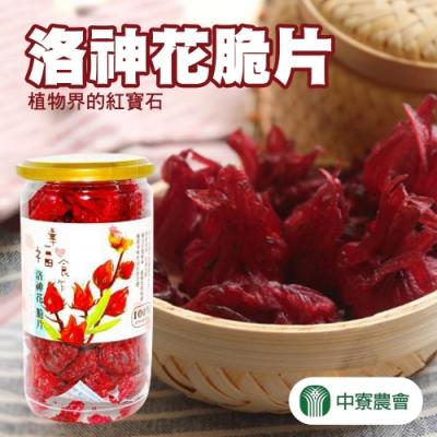 【中寮農會】洛神花脆片 (120g / 罐 x2罐)