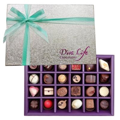 Diva Life Dazzling璀璨經典巧克力禮盒 (夾心24入)