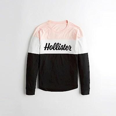 Hollister HCO  長袖 T恤 黑1083