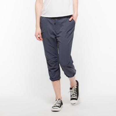 Hang Ten - 女裝 - ThermoContro吸濕快乾機能抽繩褲 - 藍
