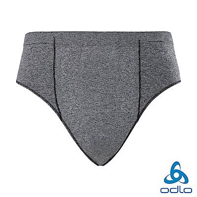 總代理●Odlo 男 銀離子 輕量 抗臭 運動 無縫編織三角褲 灰麻花