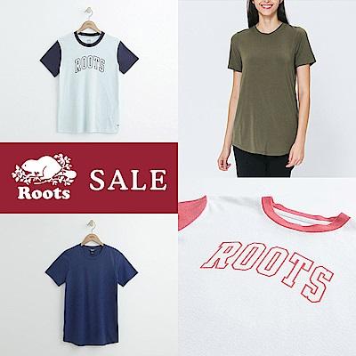 [時時樂限定]Roots 女裝T恤均一價
