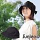 Sunlead 小顏護髮款。日系防曬透氣深圓頂遮陽帽 (黑色) product thumbnail 1