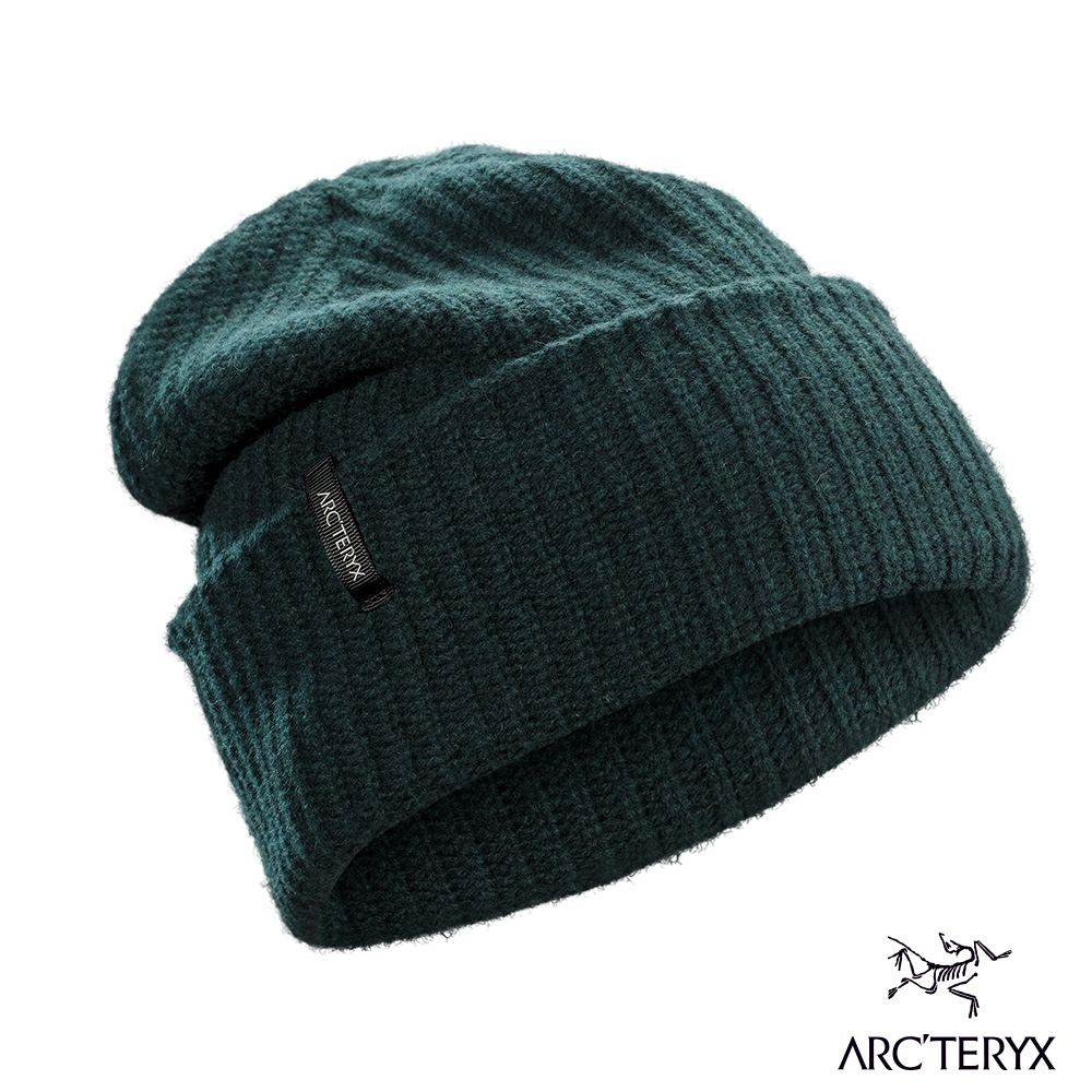 Arcteryx 始祖鳥 Chunky 羊毛 針織毛帽 迷惑雜藍