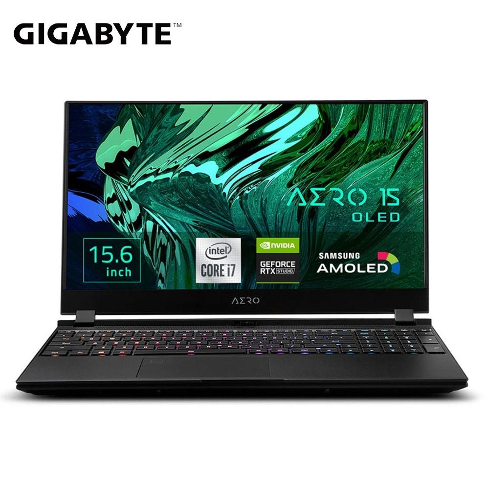 GIGABYTE 技嘉 AERO 15 OLED KC 15.6吋創作者筆電( i7-10870H/RTX3060/16G/ 512G/OLED 4K/Win10 Pro)