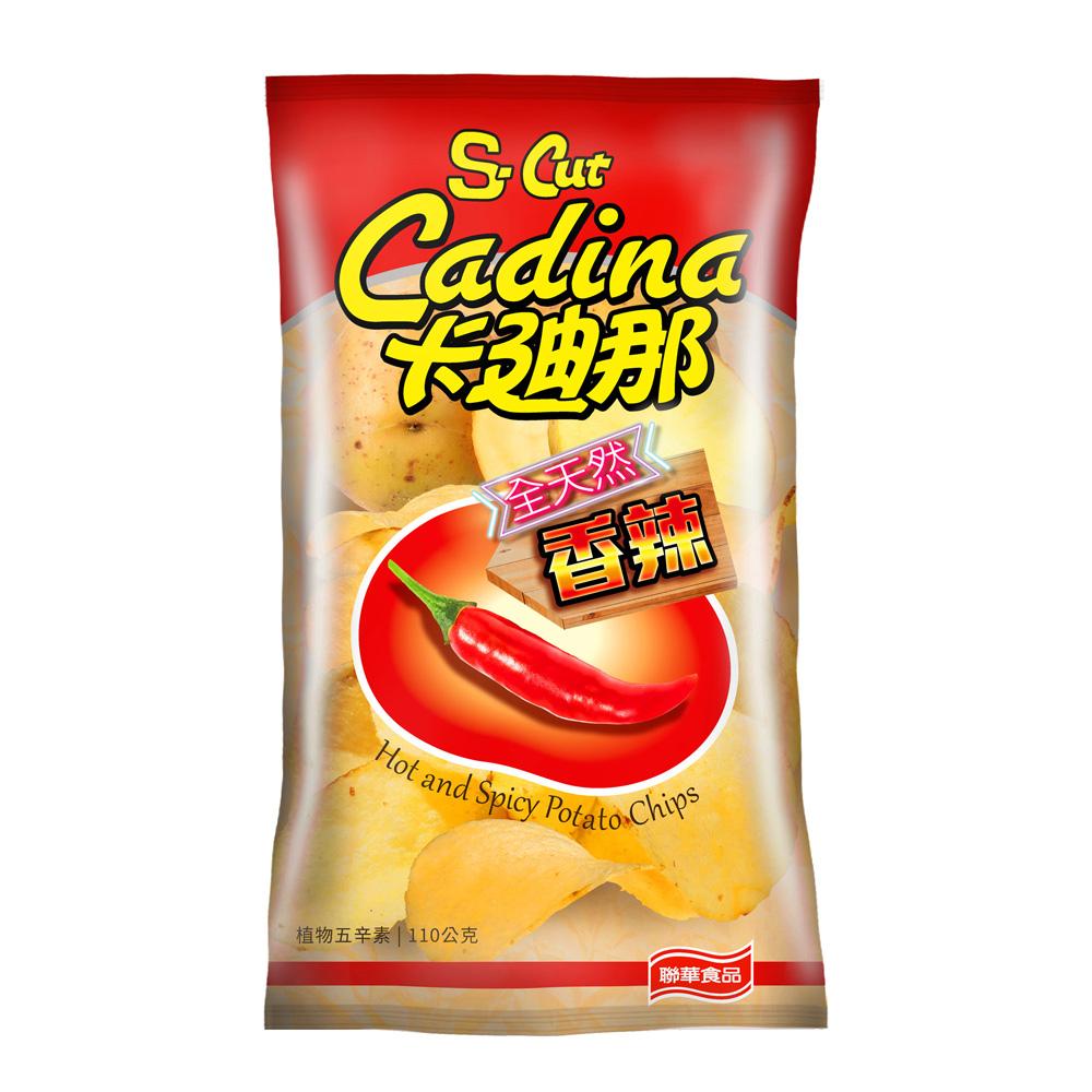 卡迪那 全天然馬鈴薯片-香辣風味(110g)