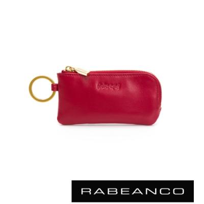 RABEANCO 迷時尚系列鑰匙零錢包 紅色