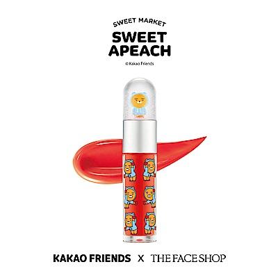 THE FACE SHOP 水晶球唇露 - HOODIE RYAN 01珊瑚橘