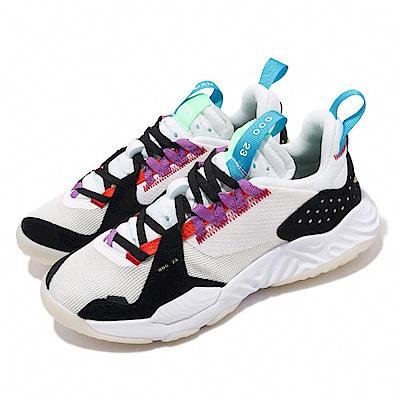 Nike 休閒鞋 Jordan Delta React 女鞋 Sail Multi 喬丹 冠希著 球鞋 米 黑 CT1003101
