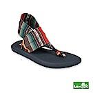 SANUK-YOGA SLING 2 條紋印花瑜珈墊涼鞋-女款(紅藍色)