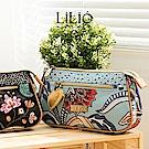 LiliO  收納包 印度藝術植  Basic Cosmetic Bag Wedgewoo