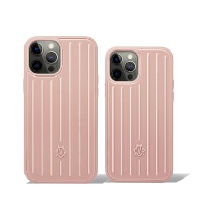 RIMOWA Desert Rose Pink 沙漠玫瑰粉手機殼 iPhone 12/12 Pro/Pro Max