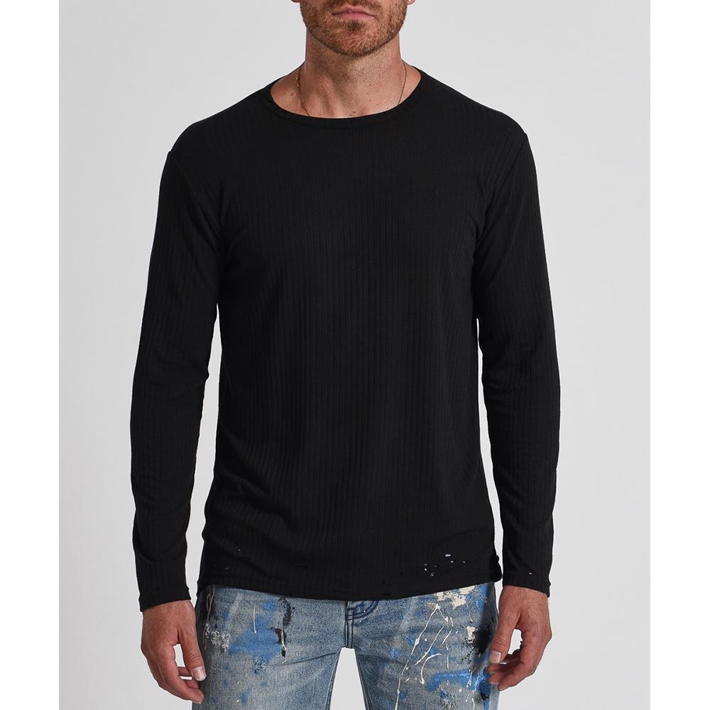 ONETEASPOON 素色長袖T恤-男