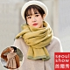 Seoul Show首爾秀 人字格紋針織加厚仿羊絨圍巾披肩 product thumbnail 1
