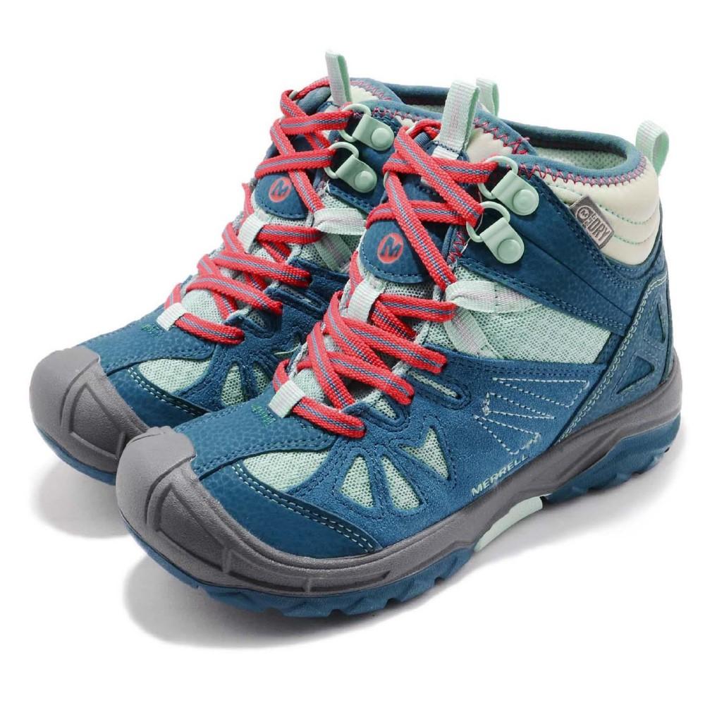 Merrell 戶外鞋 Capra Mid 童鞋 防水