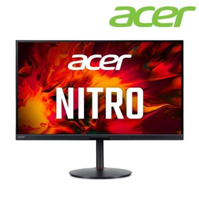 (福利品)Acer XV272U KV 27型IPS電競螢幕 護眼 2K高解析 170Hz 1ms