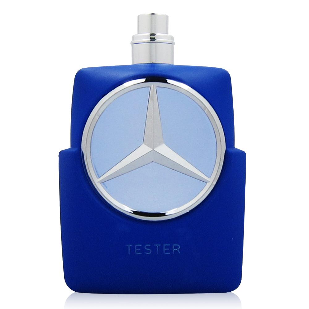 Mercedes Benz 賓士 Blue 紳藍爵士男性淡香水100ml TESTER