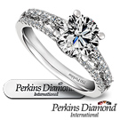 PERKINS 伯金仕 約瑟夫系列 1克拉G/VS2 鑽石戒指