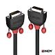 LINDY 林帝 BLACK DVI-D 雙鍊結 公to公 傳輸線 2m (36252) product thumbnail 1