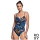 【ROXY】LAHAINA BAY BASIC ONE PIECE 一件式泳裝 黑色 product thumbnail 1