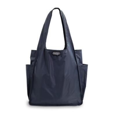 murmur A4環保購物袋│灰藍