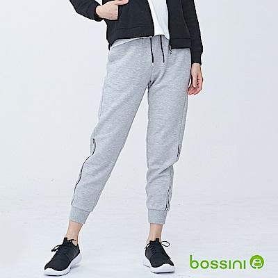 bossini女裝-休閒針織長褲01淺灰