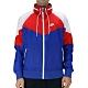 Nike AS M NSW HE WR JKT HD + 男連帽外套 紅藍 product thumbnail 1
