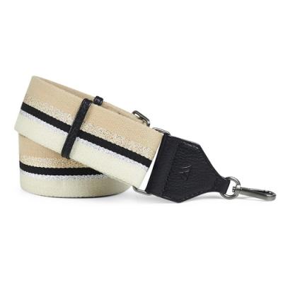 MARKBERG Finley 丹麥手工時尚編織寬版肩揹帶 (氣質裸)