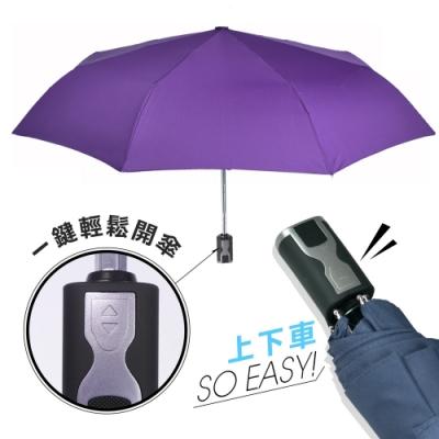 2mm 第三代通勤加固抗風自動開收傘 (神秘紫)