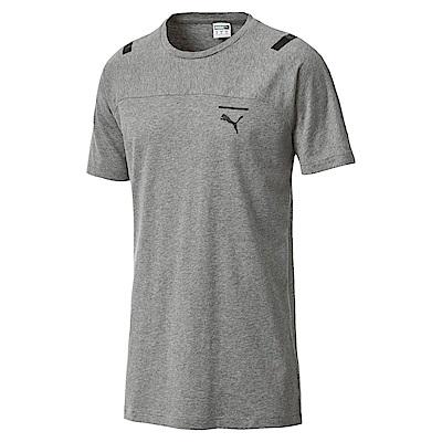 PUMA-男性流行系列Pace短袖T恤-中麻花灰-亞規