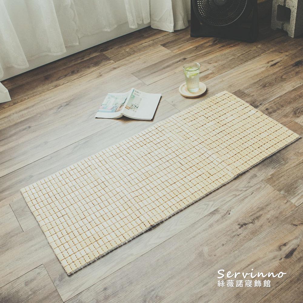 絲薇諾 經典手作麻將竹坐墊-2人座(50×110cm)