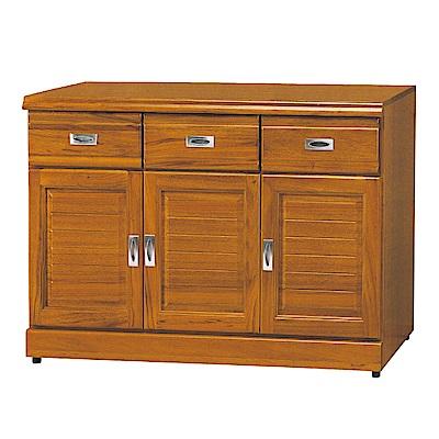 AS-史丹正樟木4尺碗盤櫃-120x45x81cm