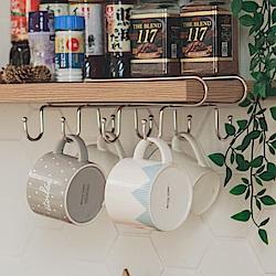不鏽鋼馬克杯架吊掛層板