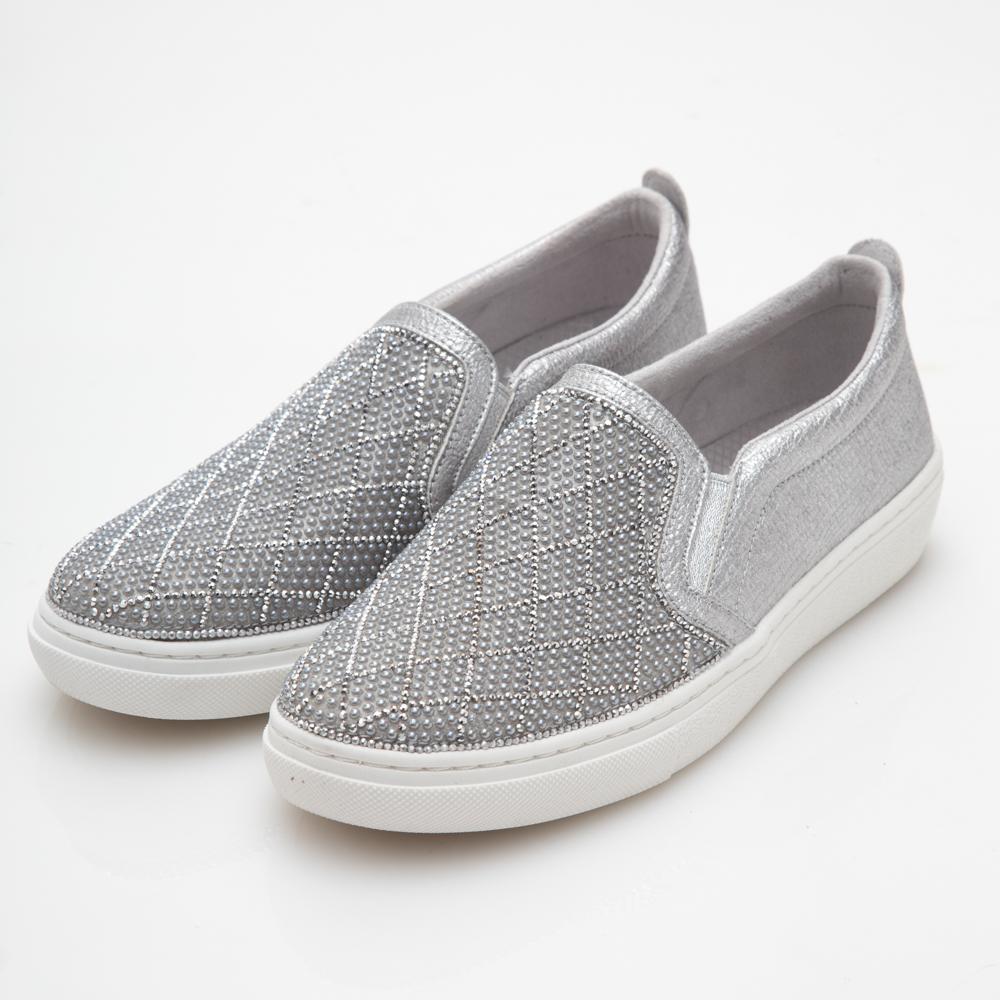 SKECHERS (女) 時尚休閒系列 GOLDIE - 73800SIL | 休閒鞋 |
