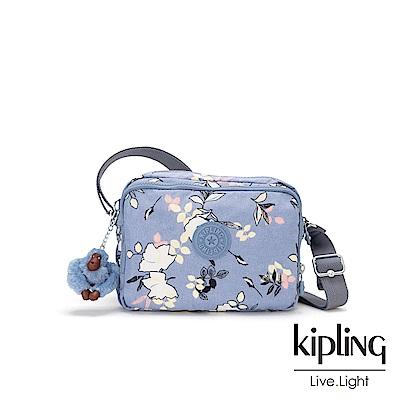 KIpling 柔雅花卉雙層側背包-SILEN