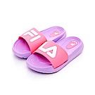 FILA KIDS 中童MD運動拖鞋-紫粉 2-S431T-951