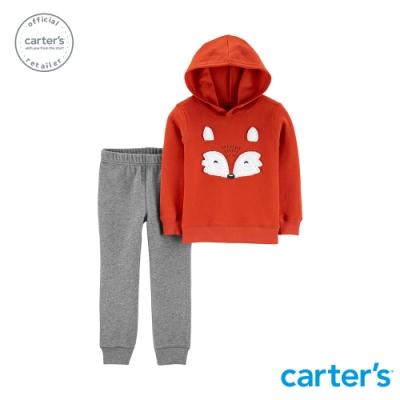 Carter s台灣總代理 休閒連帽2件組套裝(狐狸)