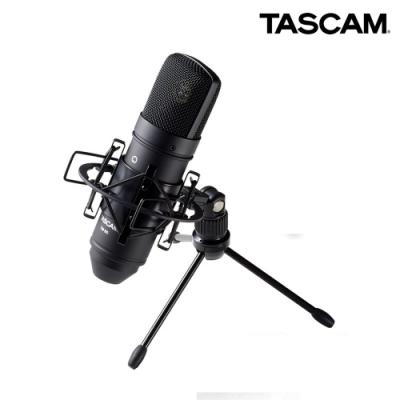 【日本TASCAM】電容式麥克風 TM-80(B)