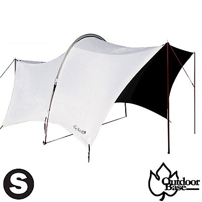 Outdoorbase 150D 小哈比移動旅程天幕布(S)_月光白