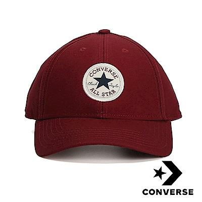 CONVERSE 鴨舌帽 10005221-A15 酒紅