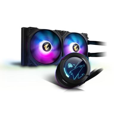GIGABYTE 技嘉 GP-AORUS WATERFORCE X 240 一體式水冷散熱器(鷹神水冷 240)