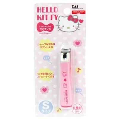 日本KAI貝印Hello Kitty指甲刀-S×2入