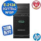 HP ML30 Gen10 E-2124/8G/1TBx2/W10P